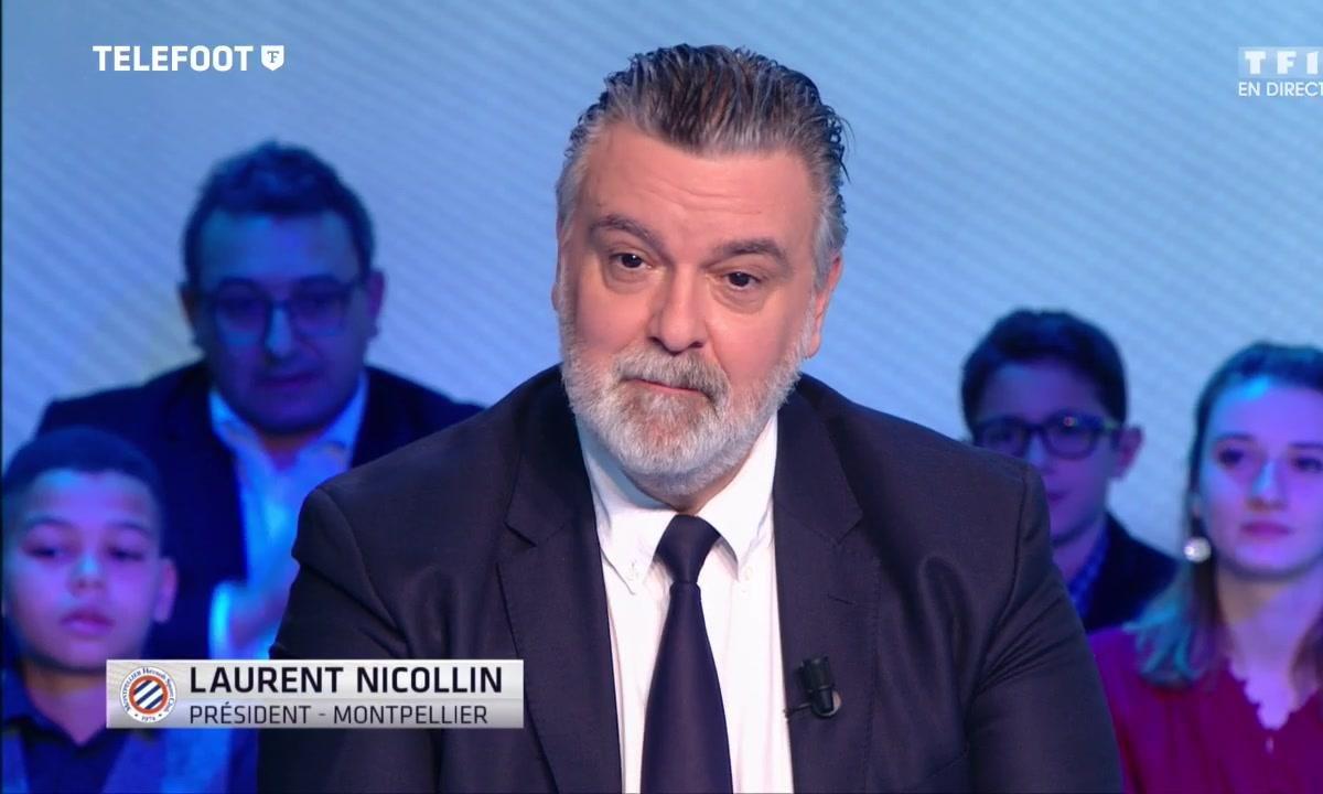 Montpellier : Laurent Nicollin revient sur le mercato d'hiver de son club