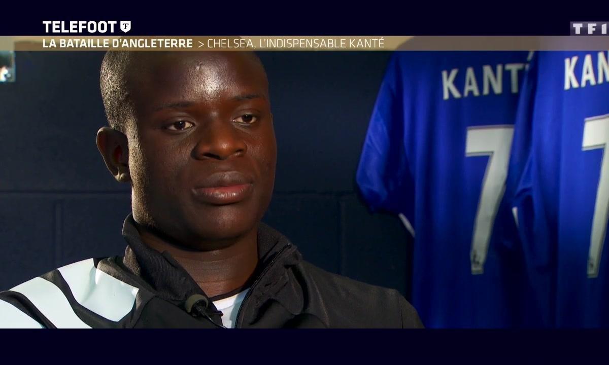 """N'Golo Kanté : """"Je m'épanouis à Chelsea"""""""