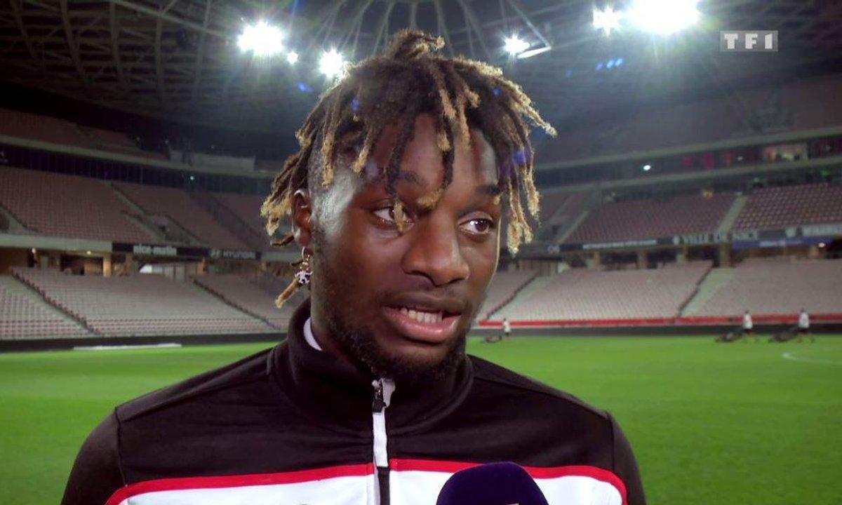 """Nice - Saint-Maximin : """"J'essaye de ne pas décevoir Vieira"""""""