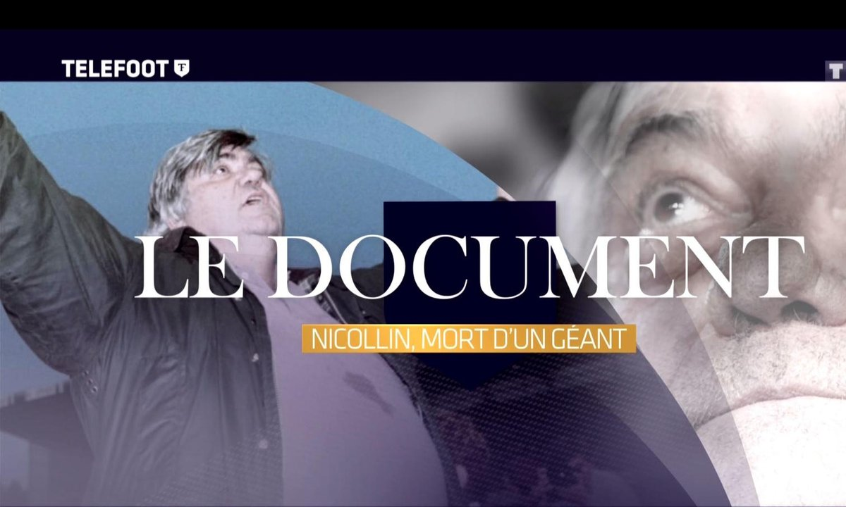 Le Document : Nicollin, mort d'un géant !