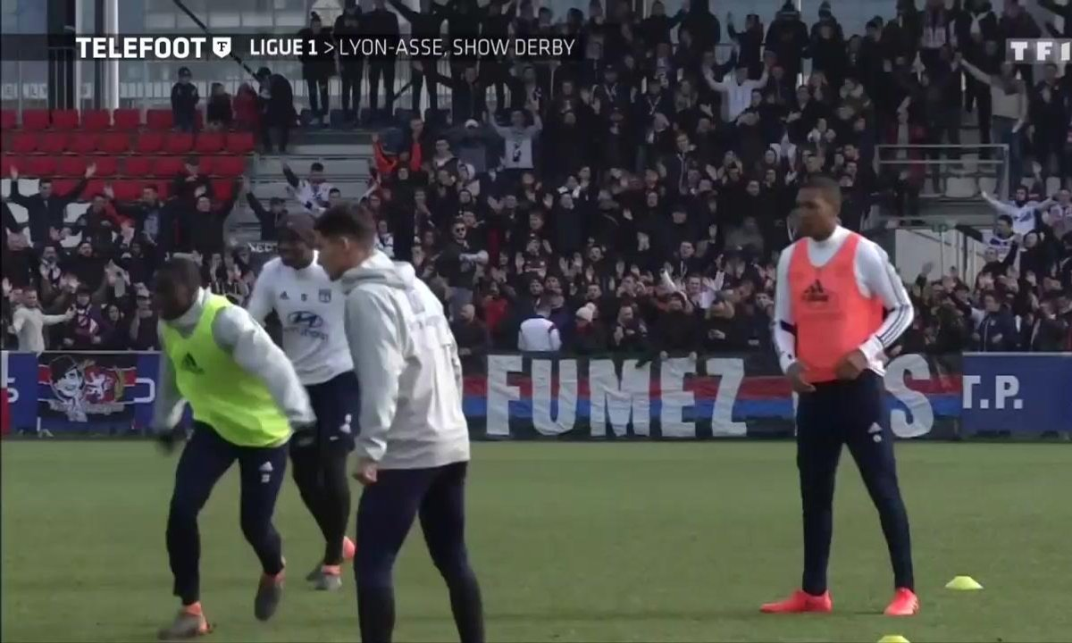 OL-ASSE : Lyon-Saint-Etienne, show derby