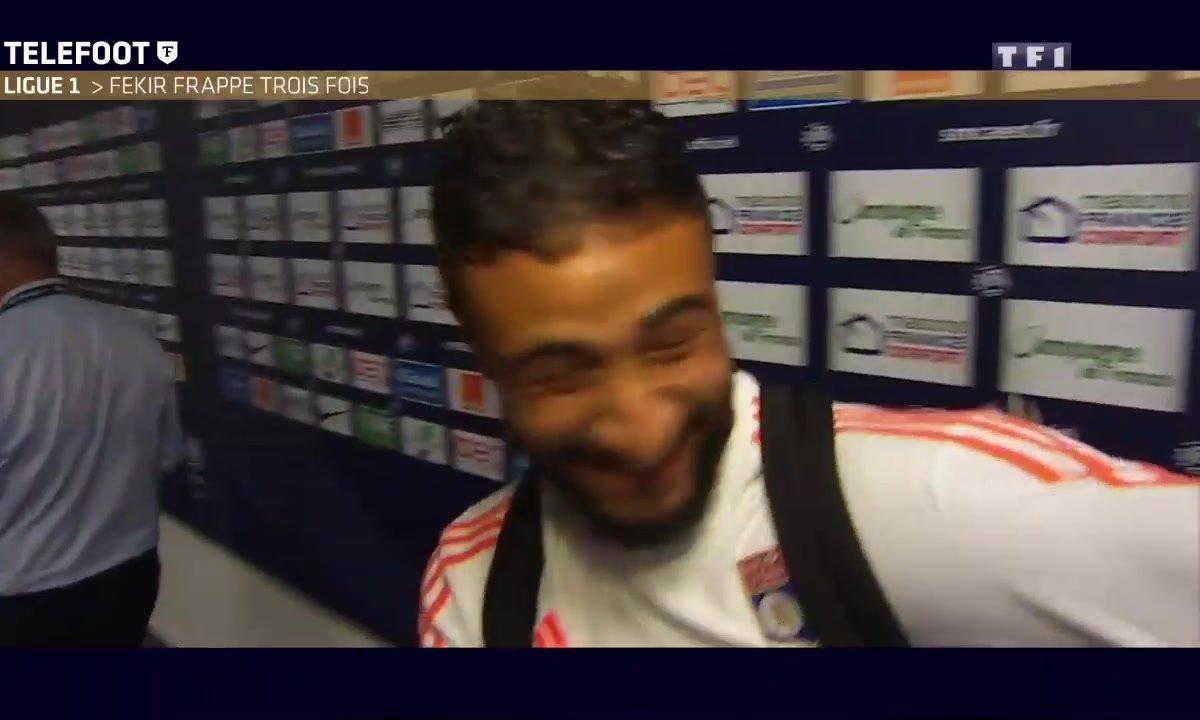 OL : Fekir frappe trois fois