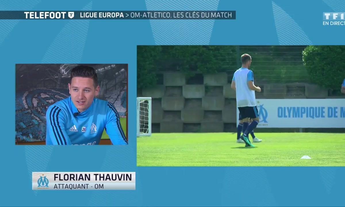 """OM- Thauvin : """"Le match le plus important de ma jeune carrière"""""""