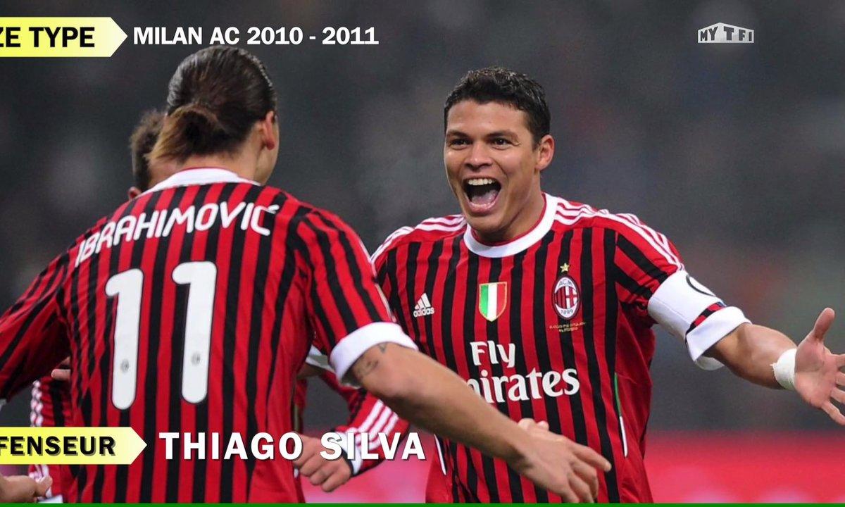 Onze type : l'AC Milan version 2010-2011