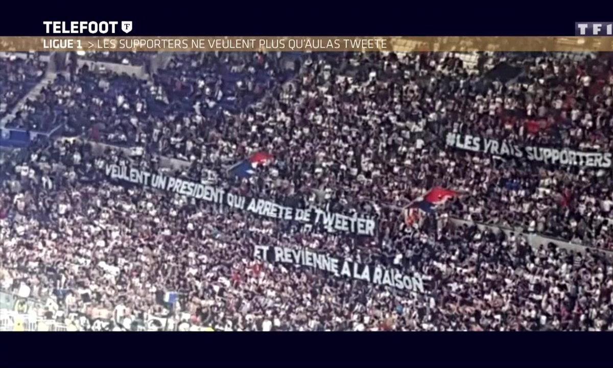 Parc OL : Des banderoles hostiles envers Génésio et Aulas