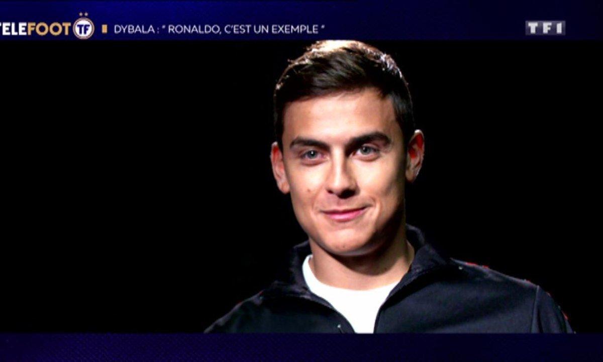 """Paulo Dybala : """"Ronaldo, c'est un exemple"""""""