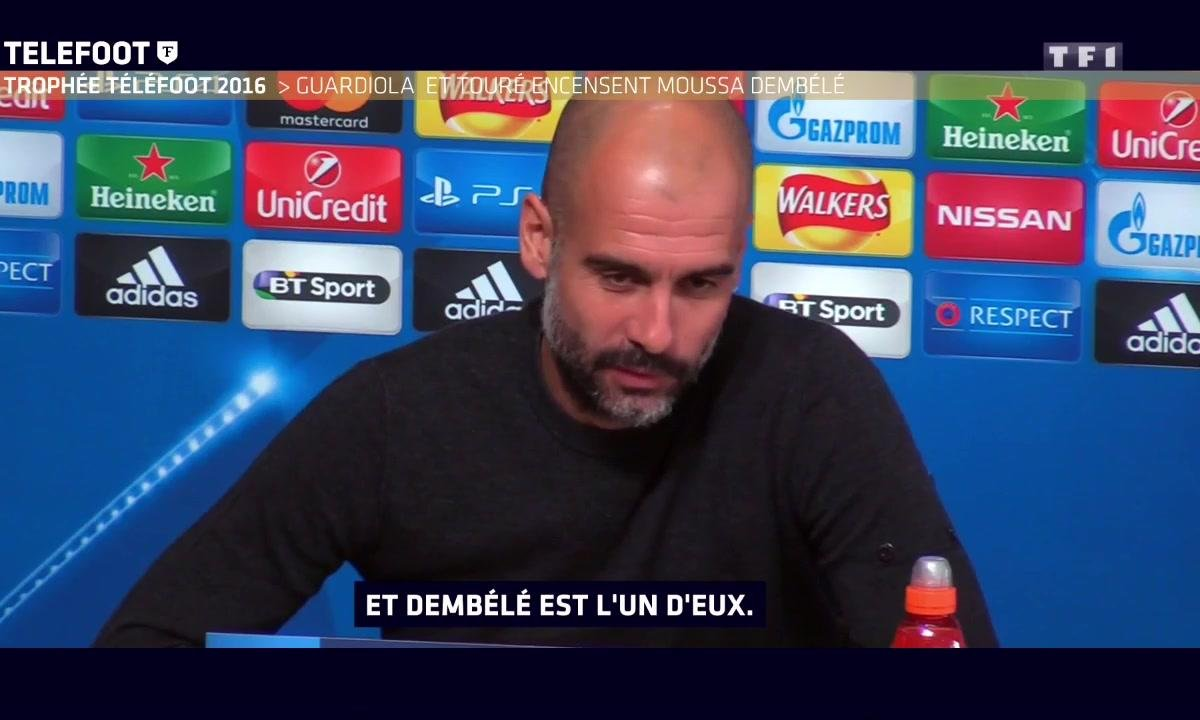 [Téléfoot 18/12] Pep Guardiola encense Moussa Dembélé
