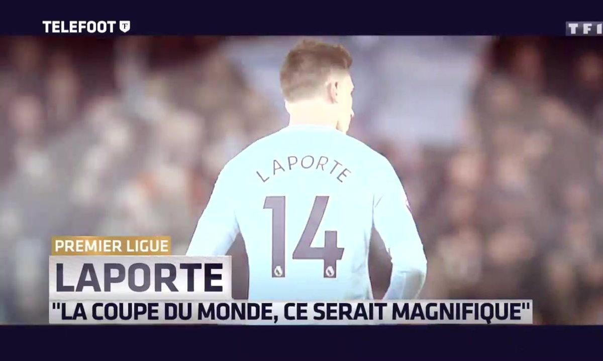 """Premier League - Laporte : """"La Coupe du monde, ce serait magnifique"""""""
