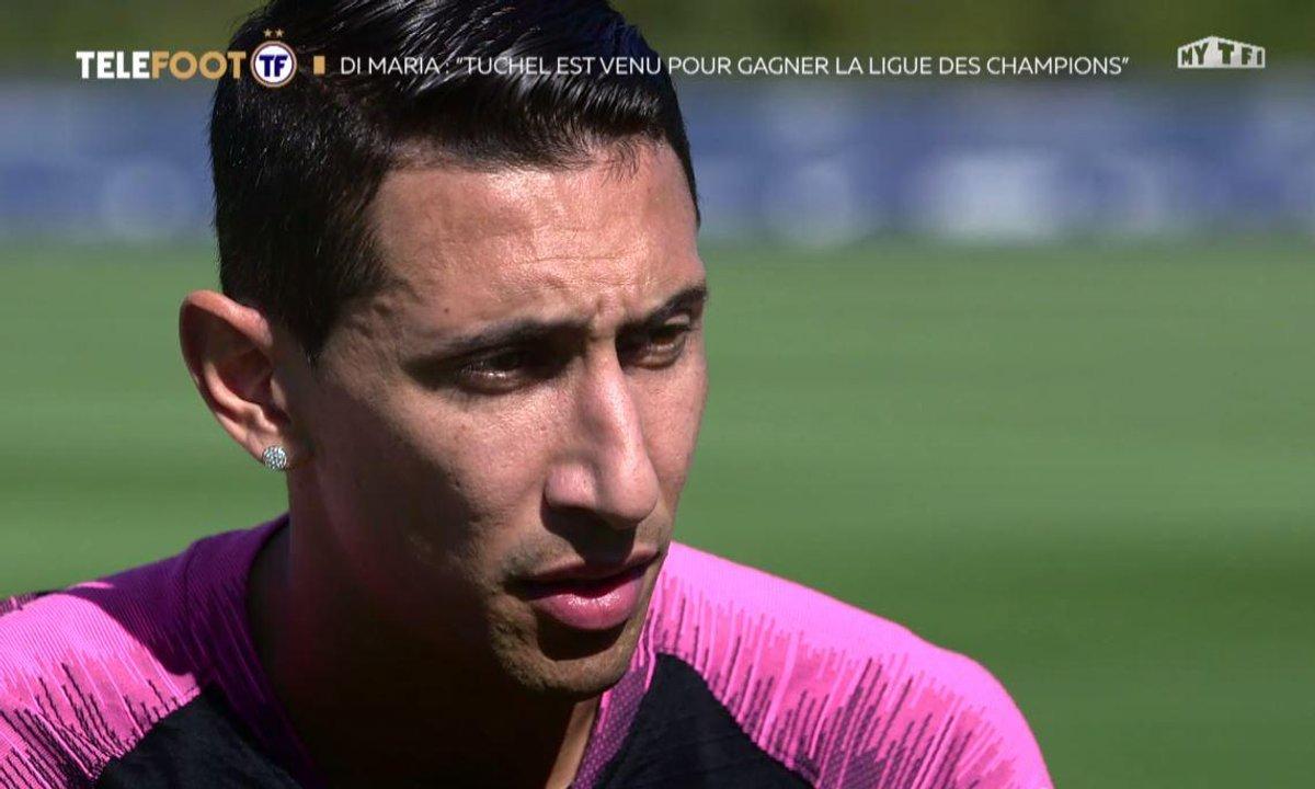 """PSG - Angel di Maria : """"Tuchel est venu pour gagner la Ligue des champions"""""""