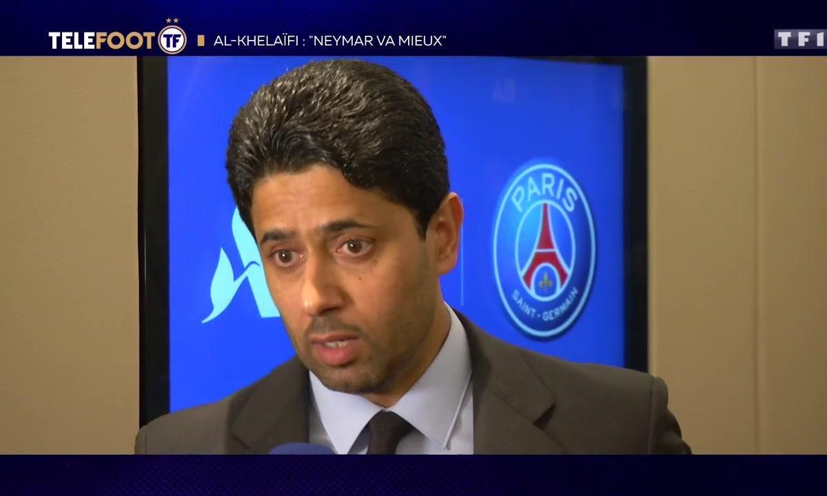"PSG - Nasser Al-Khelaïfi : ""Neymar va mieux"""