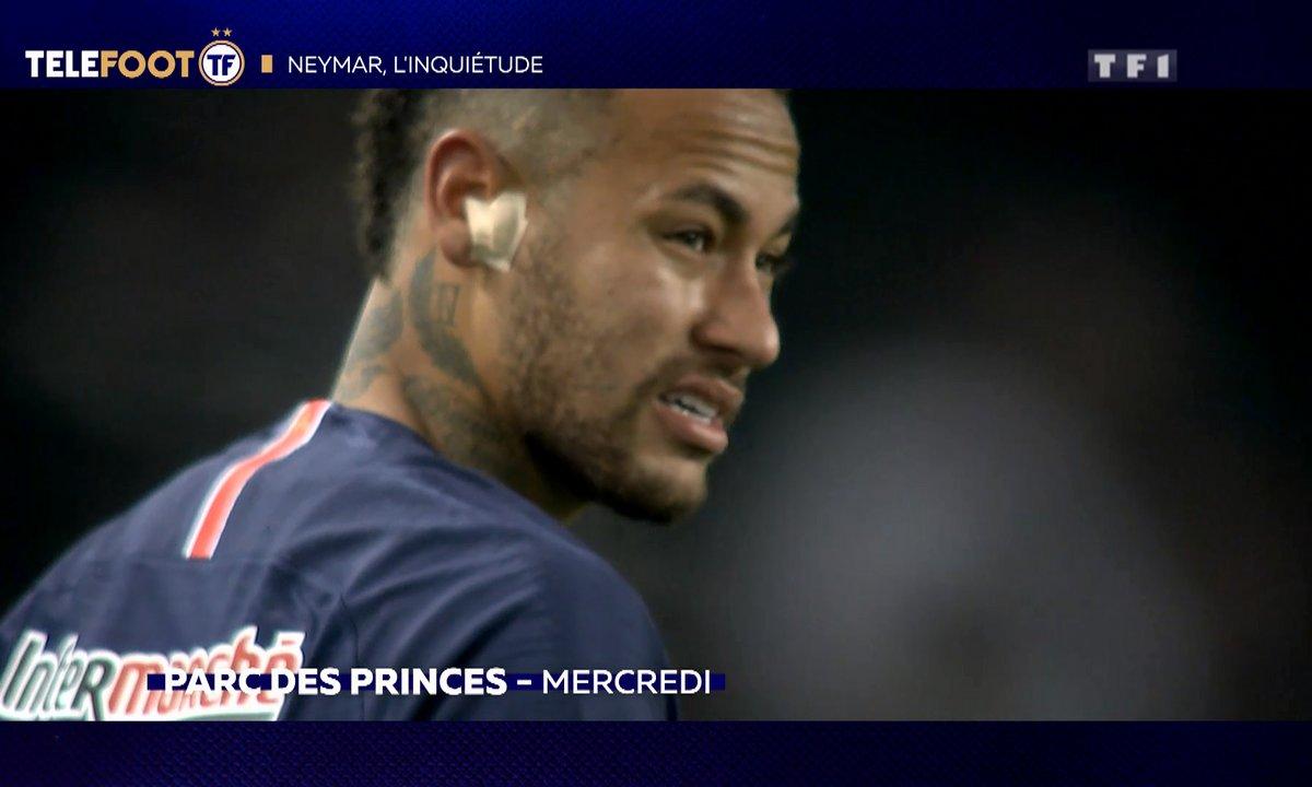 PSG : Neymar, l'inquiétude
