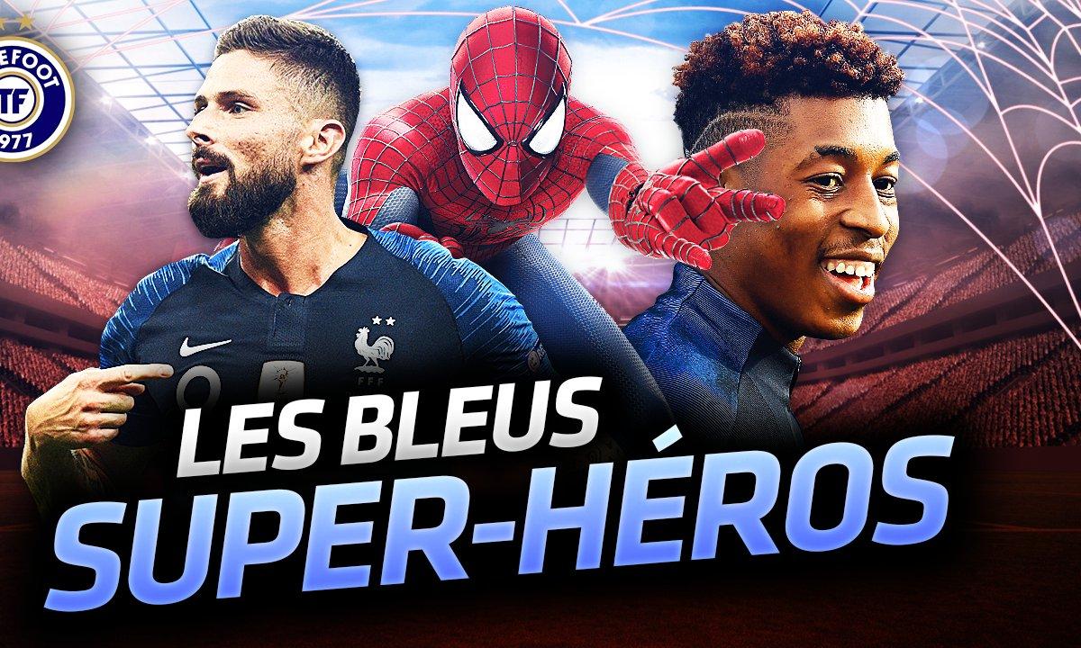 La Quotidienne du 13/11 - Les Bleus, super héros !
