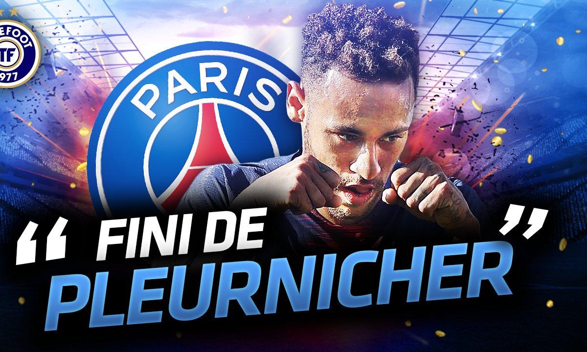 La Quotidienne du 03/10 - Fini de pleurnicher pour Neymar !