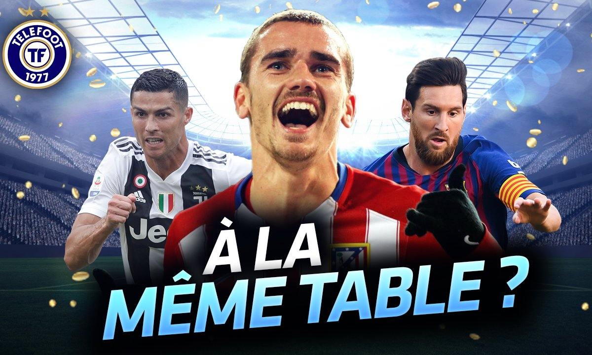 La Quotidienne du 18/09 - Griezmann à la même table ?