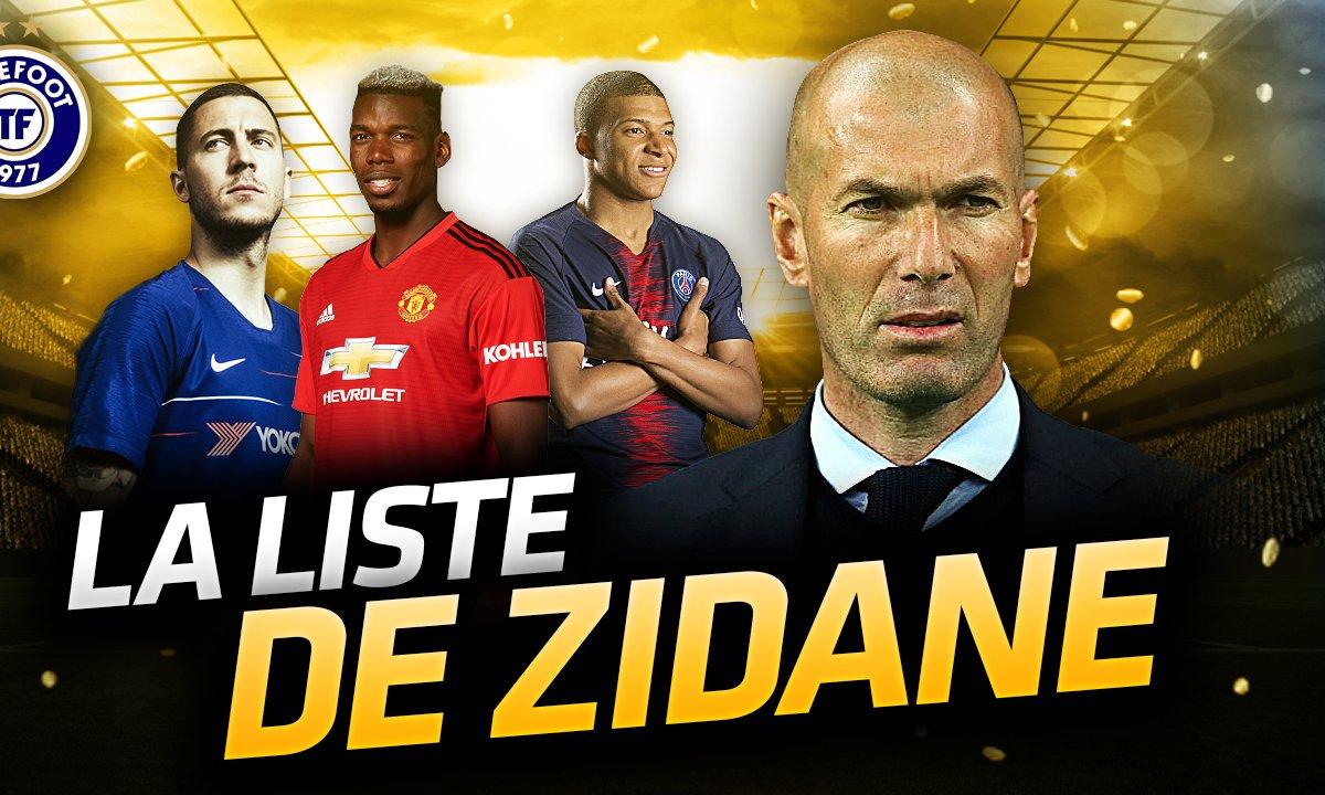 La Quotidienne du 12/03 - La Liste de Zidane