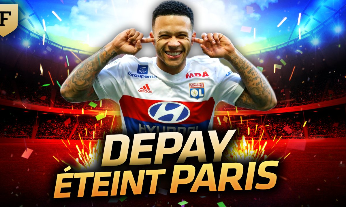 La Quotidienne du 22/01 : Depay éteint le PSG !