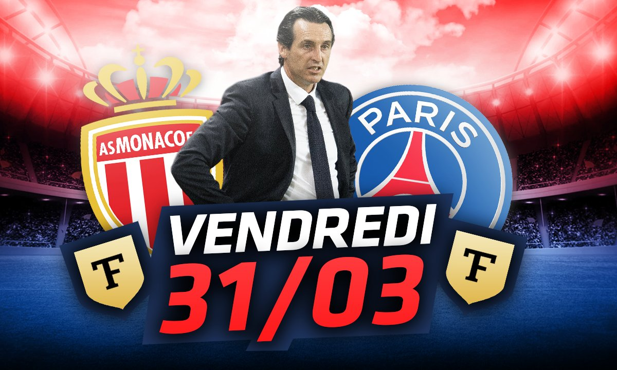 La Quotidienne du 31/03 : Emery en danger avant PSG-Monaco