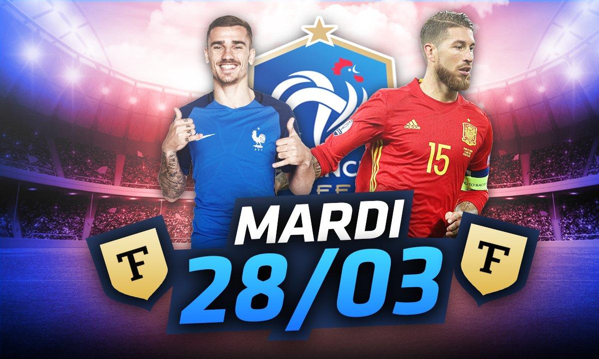 La Quotidienne du 28/03 : France-Espagne, tout sur l'avant-match