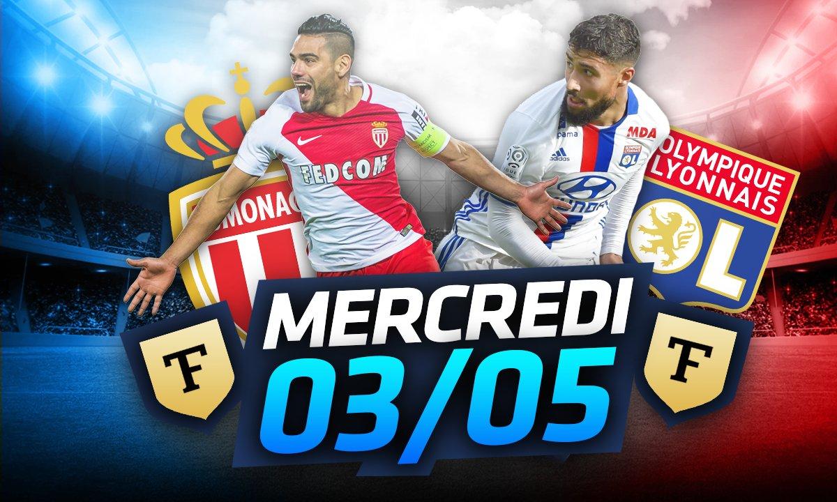 La Quotidienne du 03/05 : l'OL et Monaco sur la scène européenne