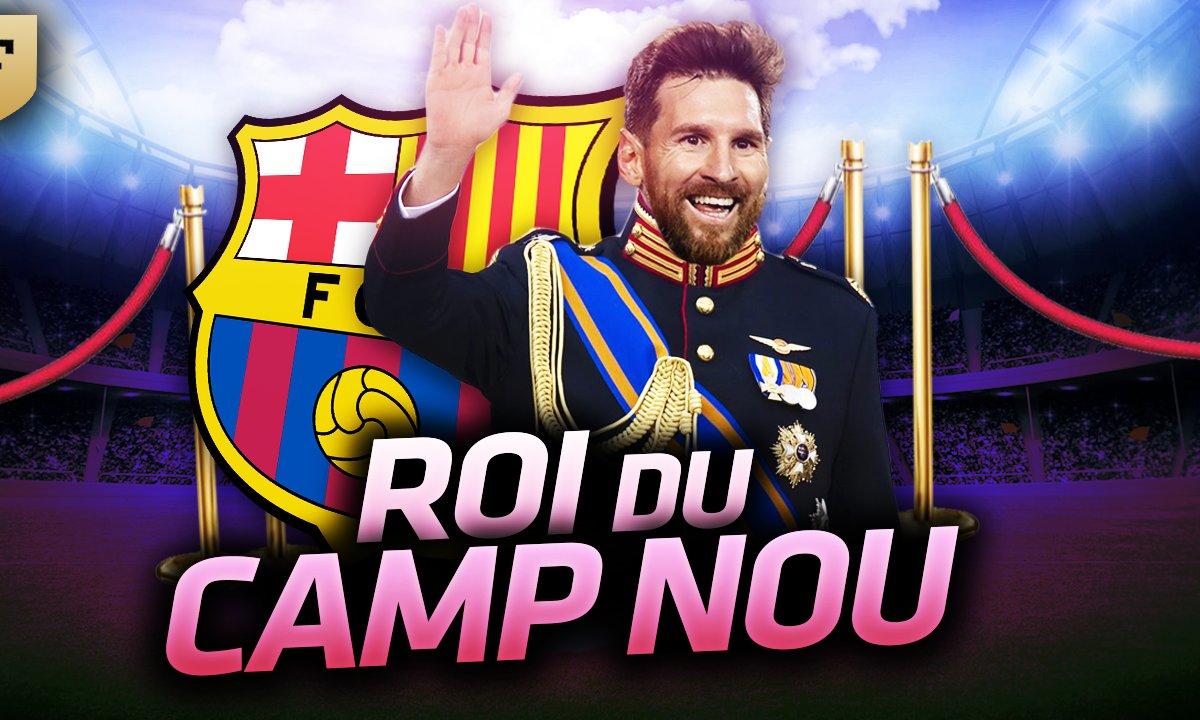 La Quotidienne du 26/01 : Lionel Messi, roi du Nou Camp