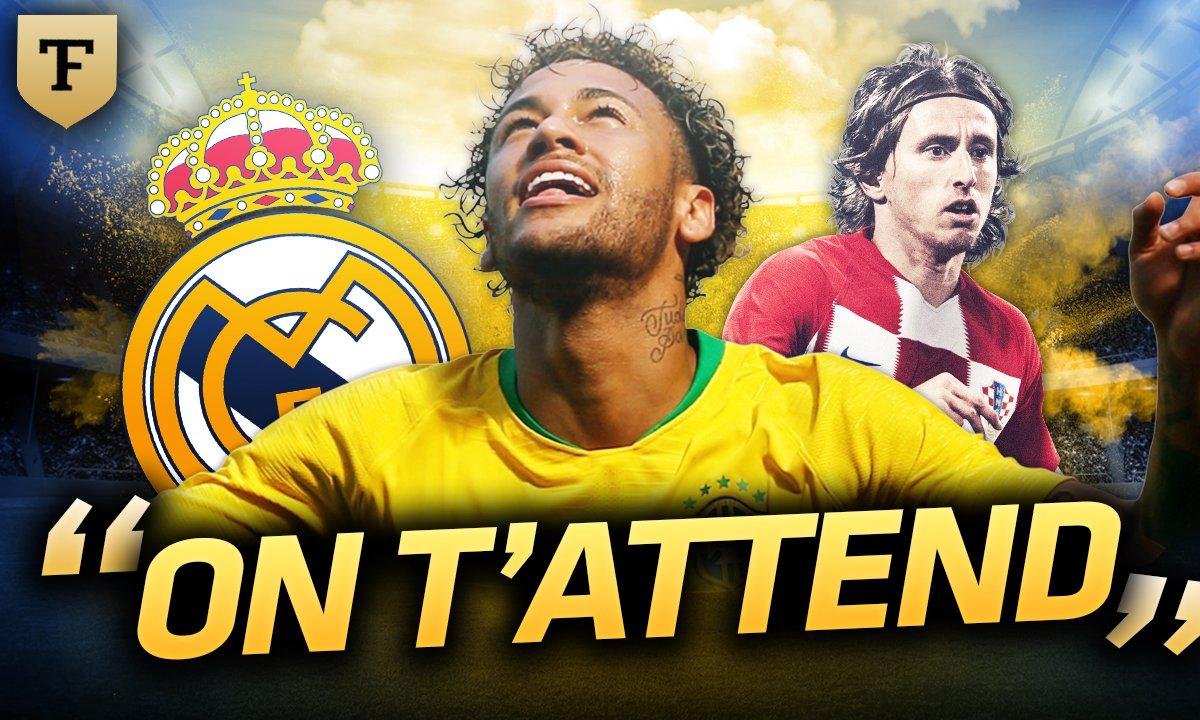 La Quotidienne du 04/06 - Quand Modric drague Neymar !