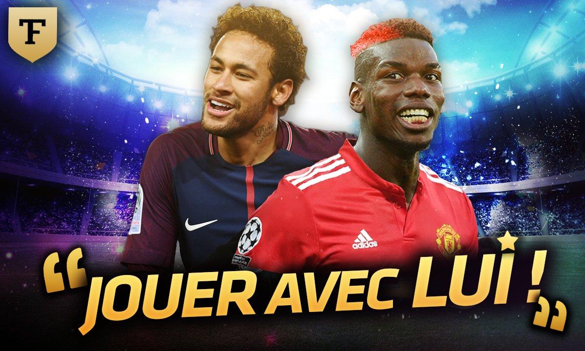 "La Quotidienne du 20/03 - Pogba/Neymar : ""Jouer avec lui !"""
