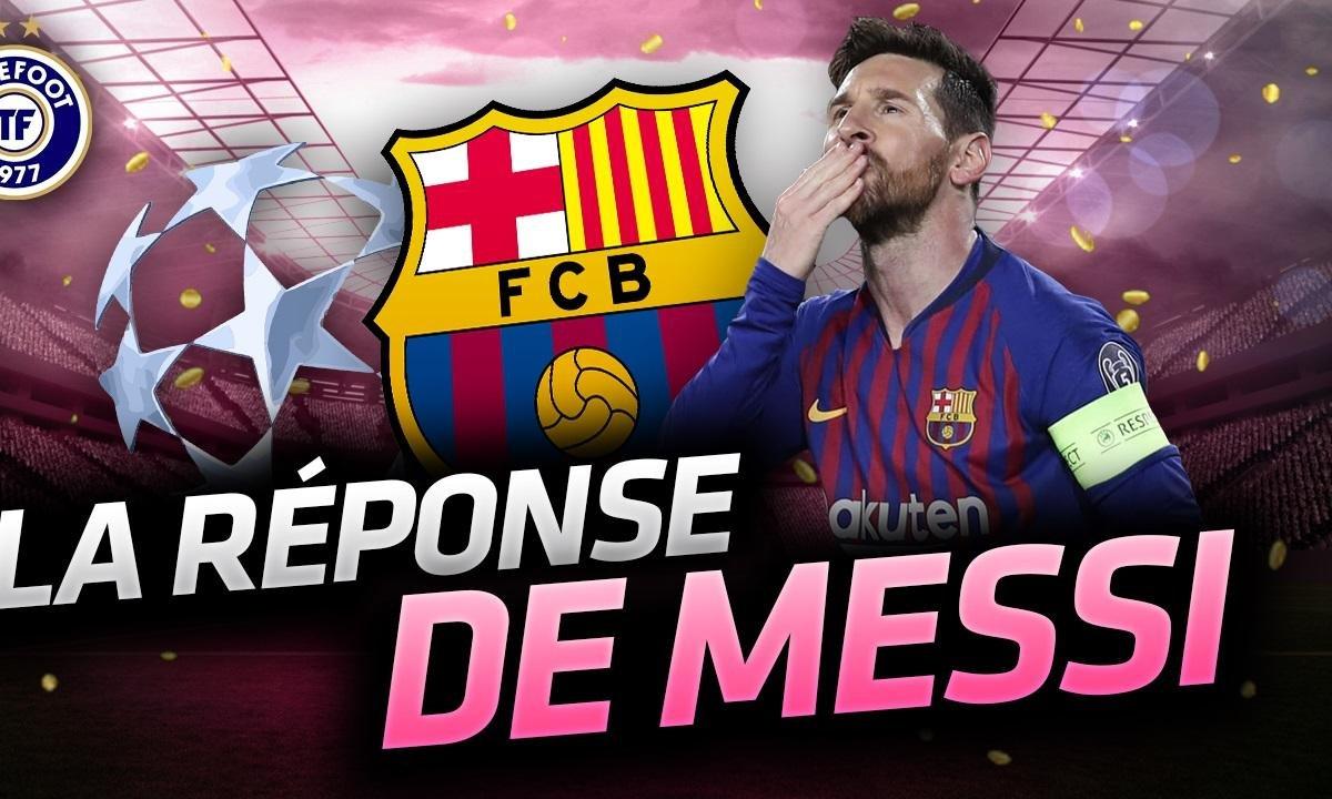 La Quotidienne du 14/03 - La réponse de Messi