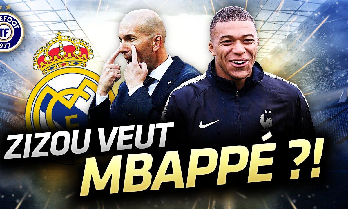 La Quotidienne du 25/03 - Zizou veut Mbappé ?!