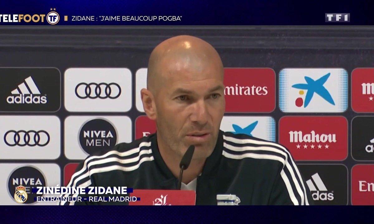 "Real Madrid - Zidane ""aime beaucoup""  Pogba"