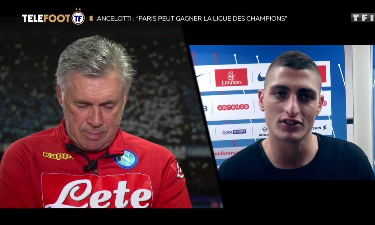 """""""Tu sais comme je t'aime"""" : Le beau message de Verratti pour Ancelotti"""