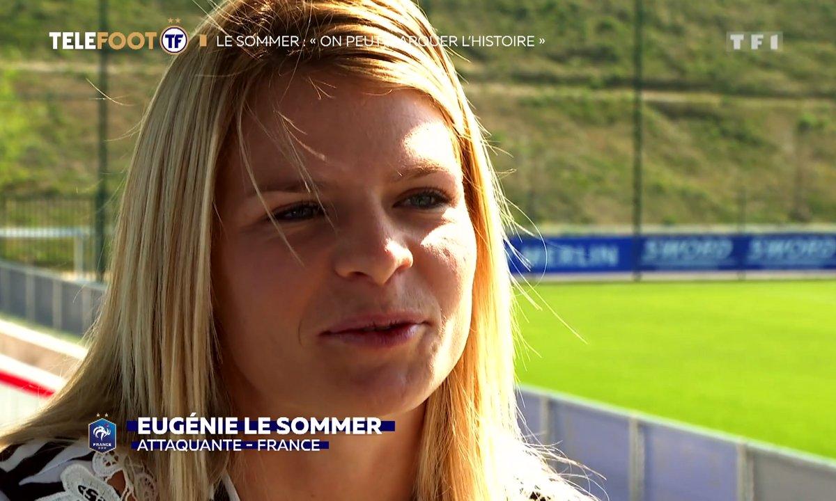 """Le Sommer : """"On peut marquer l'histoire du football féminin"""""""