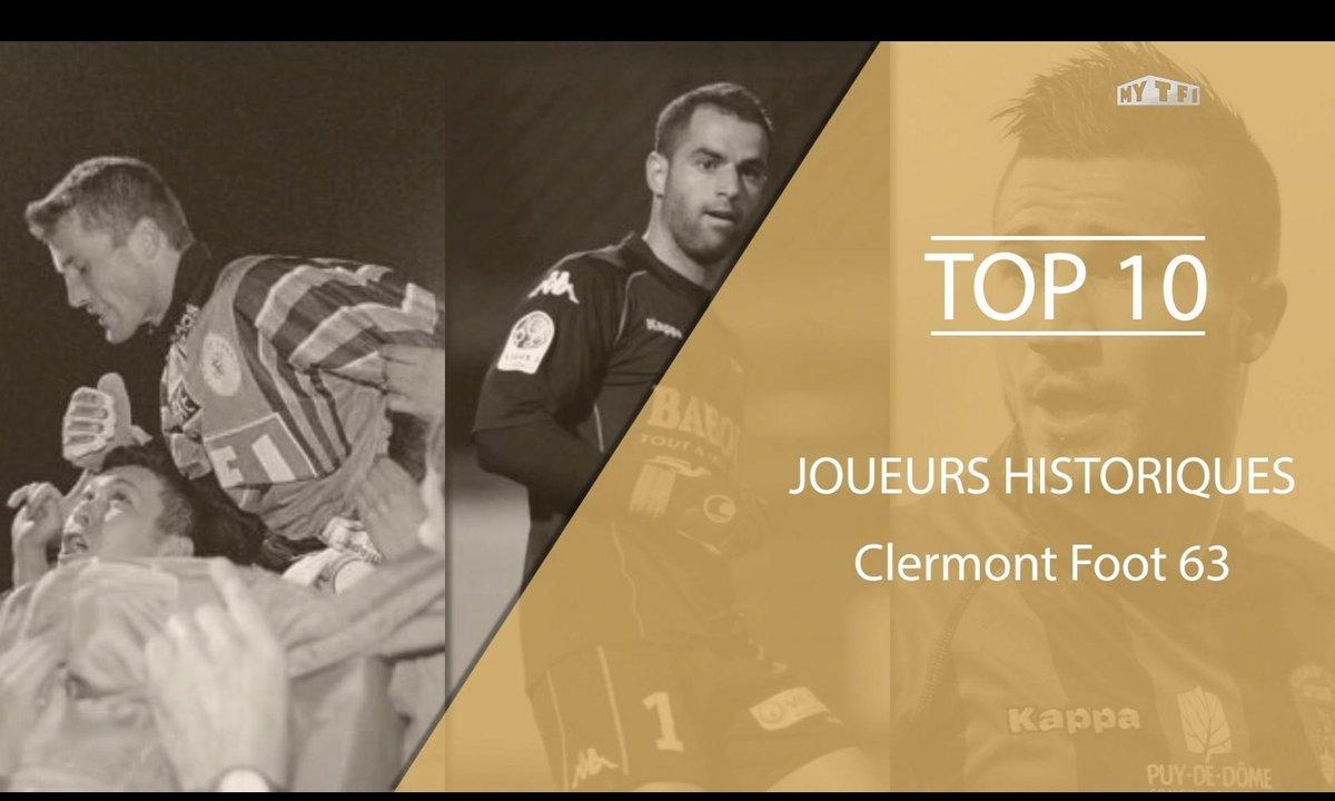 Top 10 : Les légendes du Clermont Foot 63