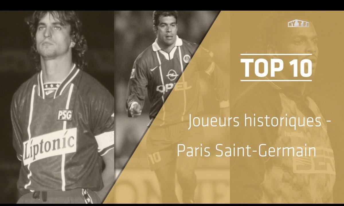 Top 10 : Les légendes du Paris Saint-Germain