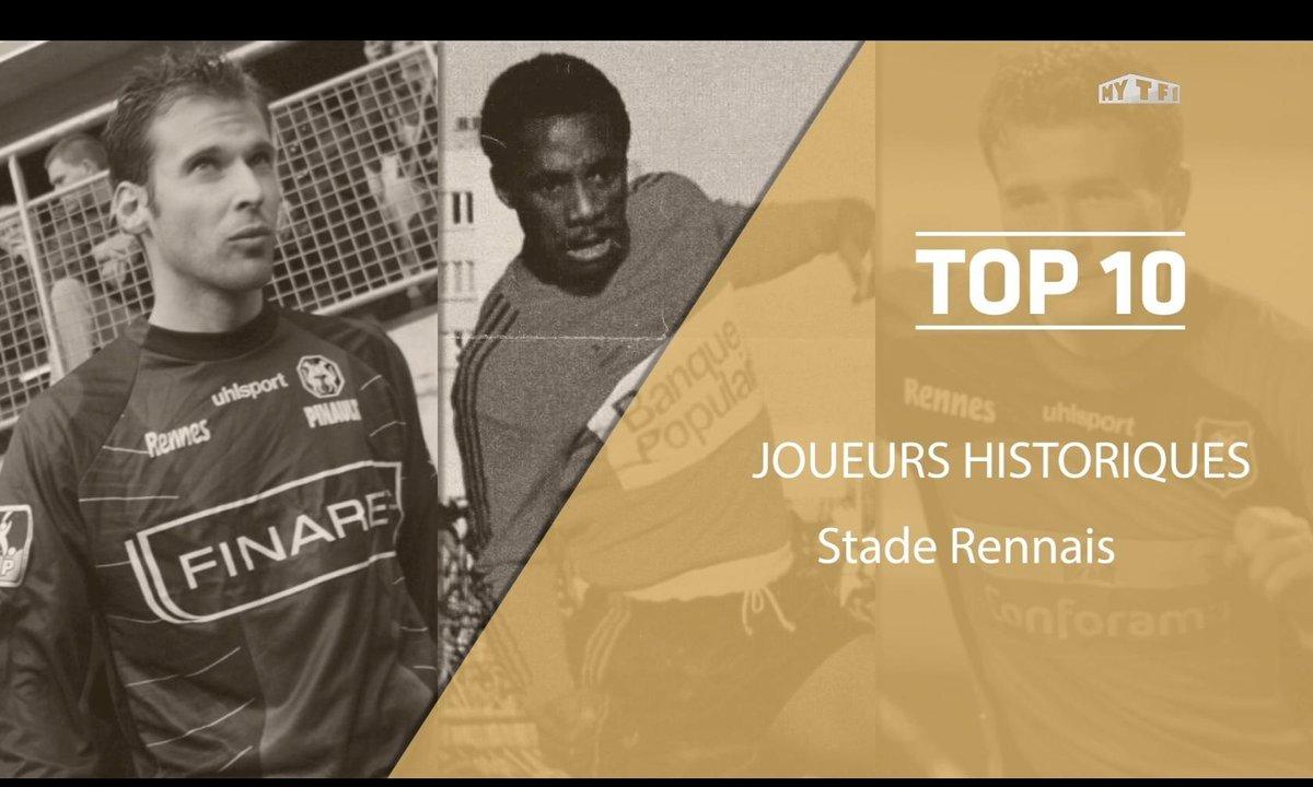 Top 10 : Les légendes du Stade Rennais