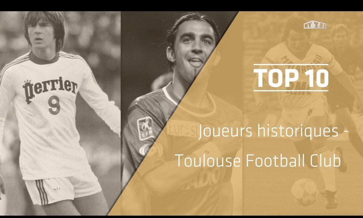 Top 10 : Les légendes du Toulouse FC