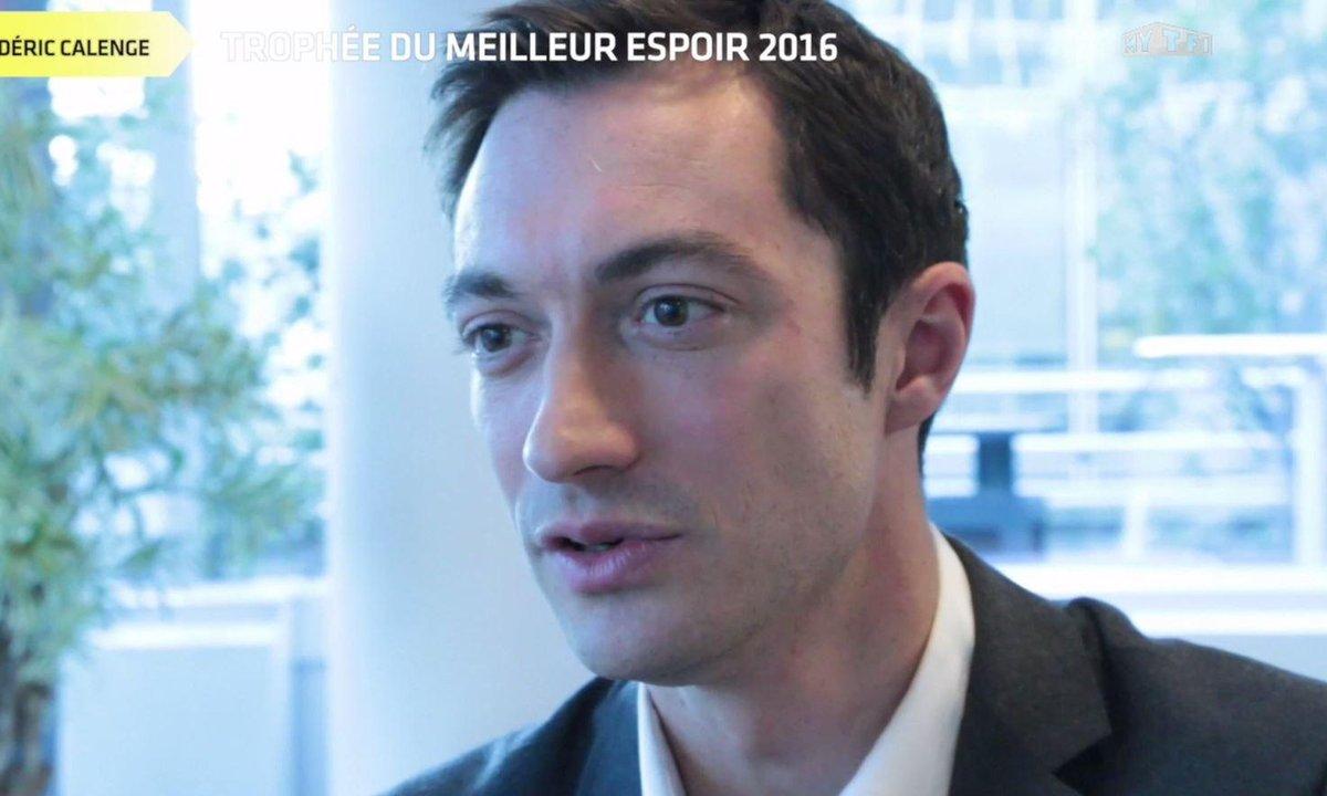 Trophée Téléfoot : le Meilleur espoir 2016 selon Frédéric Calenge
