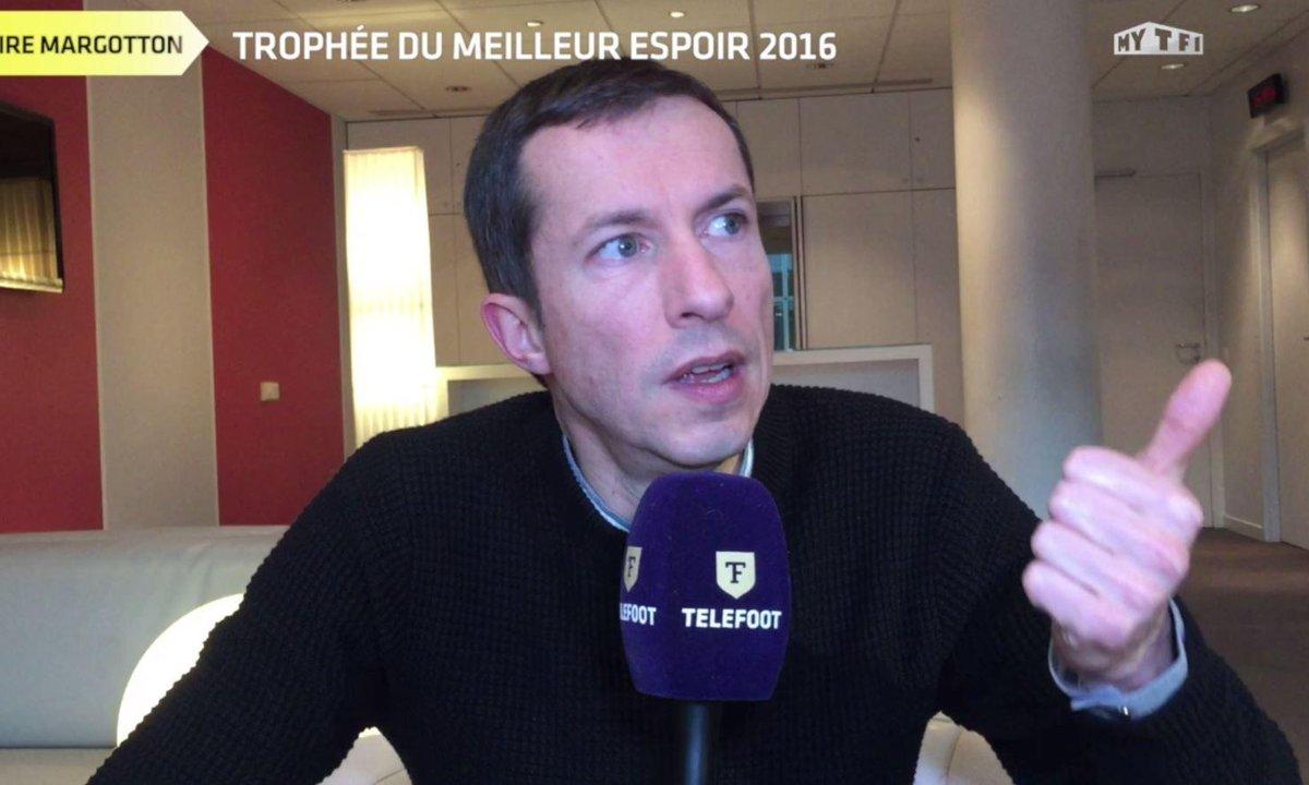 Trophée Téléfoot : le Meilleur espoir 2016 selon Grégoire Margotton