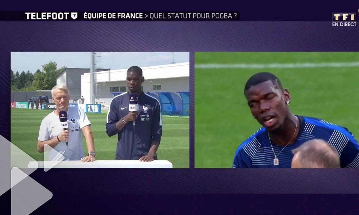 """Equipe de France : """"Je veux devenir le patron"""" Pogba s'explique"""