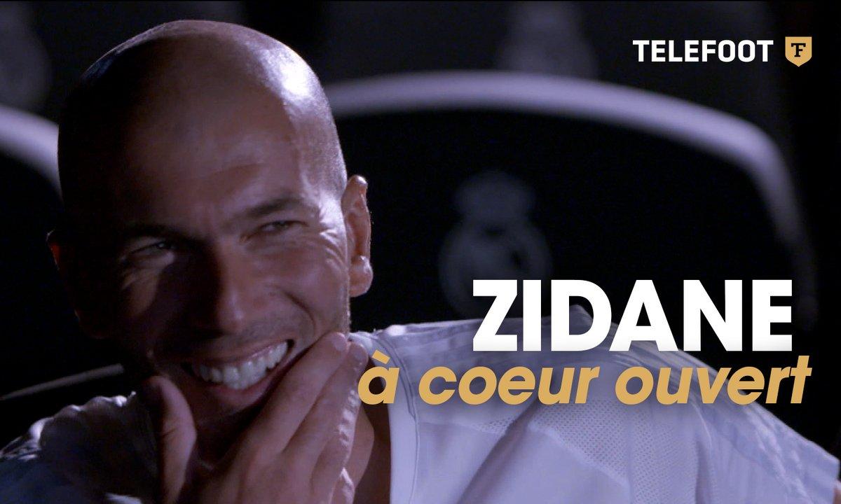 Zidane, à coeur ouvert