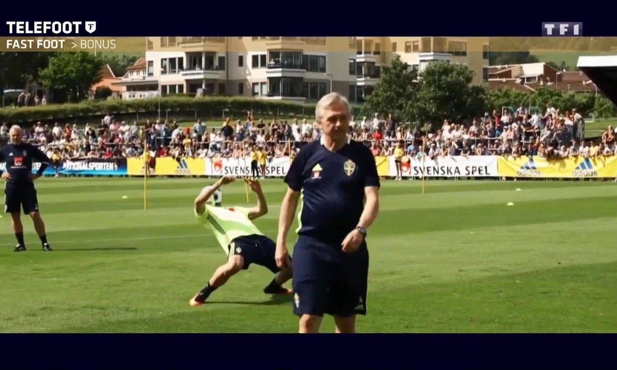Zlatan Ibrahimovic étale sa technique