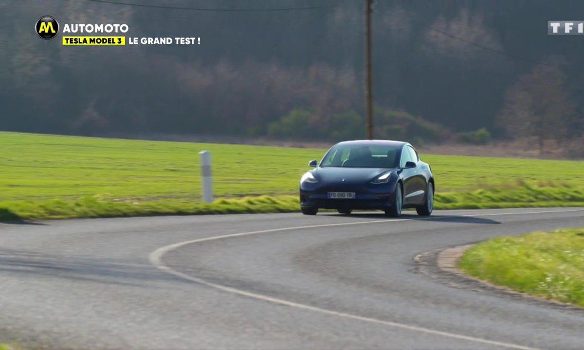 Combien de kilomètres peut-on parcourir avec une Tesla Model 3 ?
