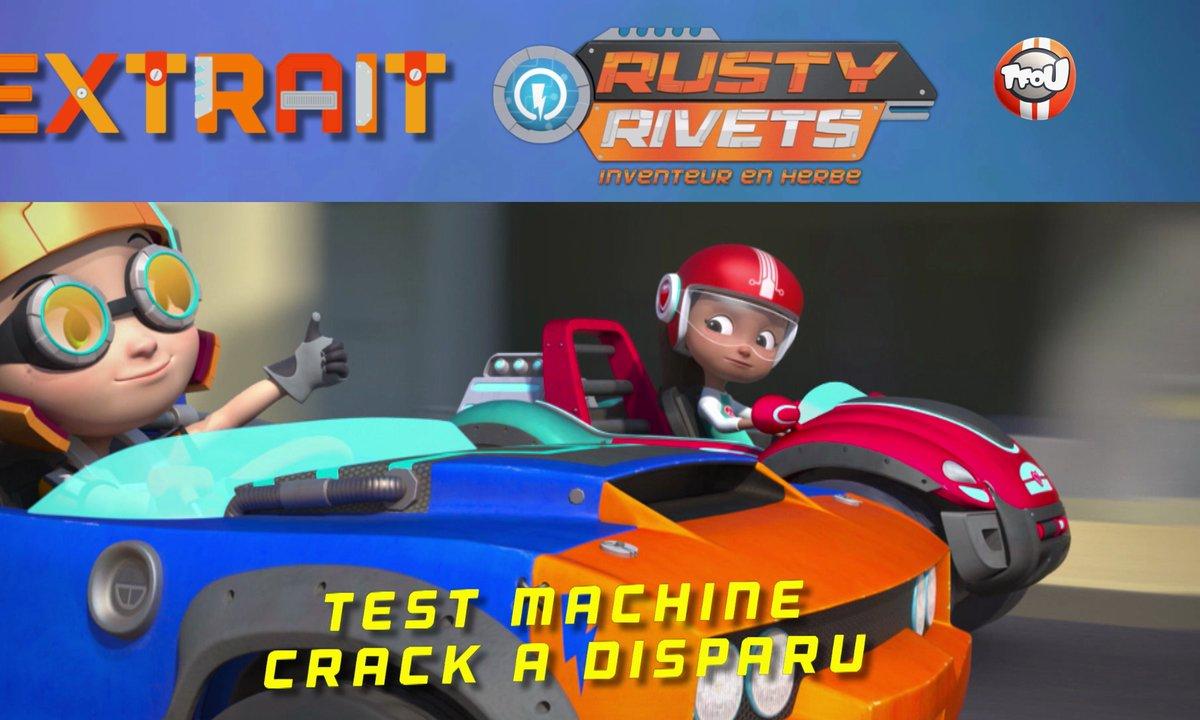 Le test machine : Crack a disparu !