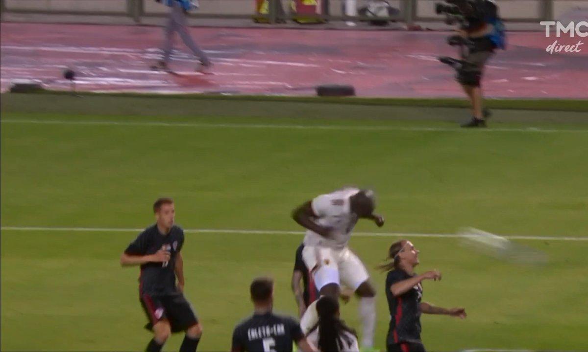 Belgique - Croatie (1 - 0) : Voir la tête de Lukaku à bout portant en vidéo