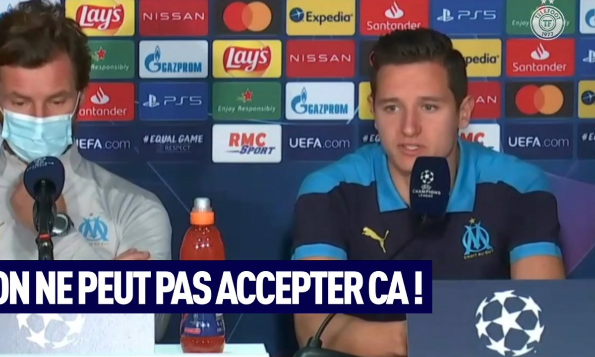VIDEO - Thauvin tape du poing sur la table