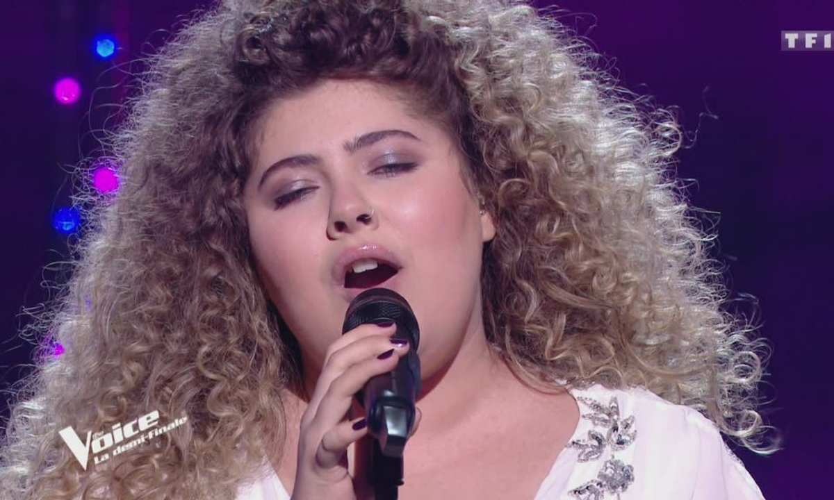 "THE VOICE 2020 – Cheyenne chante ""Listen"" de Beyoncé (Demi-finale)"