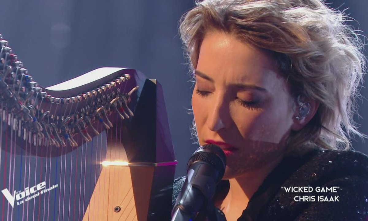 """THE VOICE 2020 – Gustine chante """"Wicked game"""" de Chris Isaak (Demi-finale)"""
