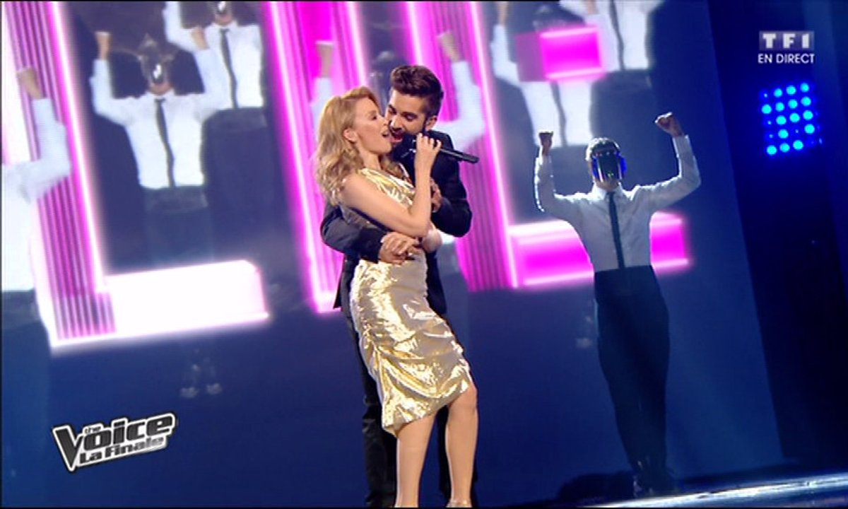 Kendji Girac & Kylie Minogue - Can't Get You Out of My Head(saison 03)