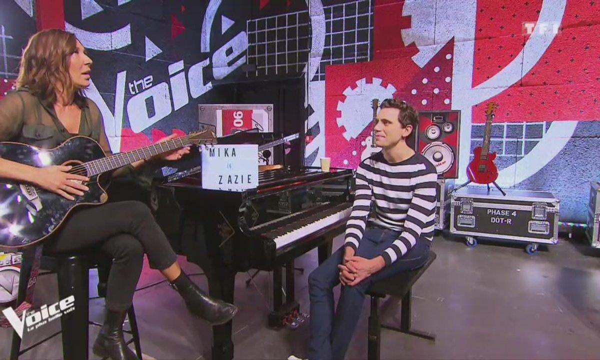Les Auditions finales des coachs : Zazie et Mika s'attaquent aux Beatles