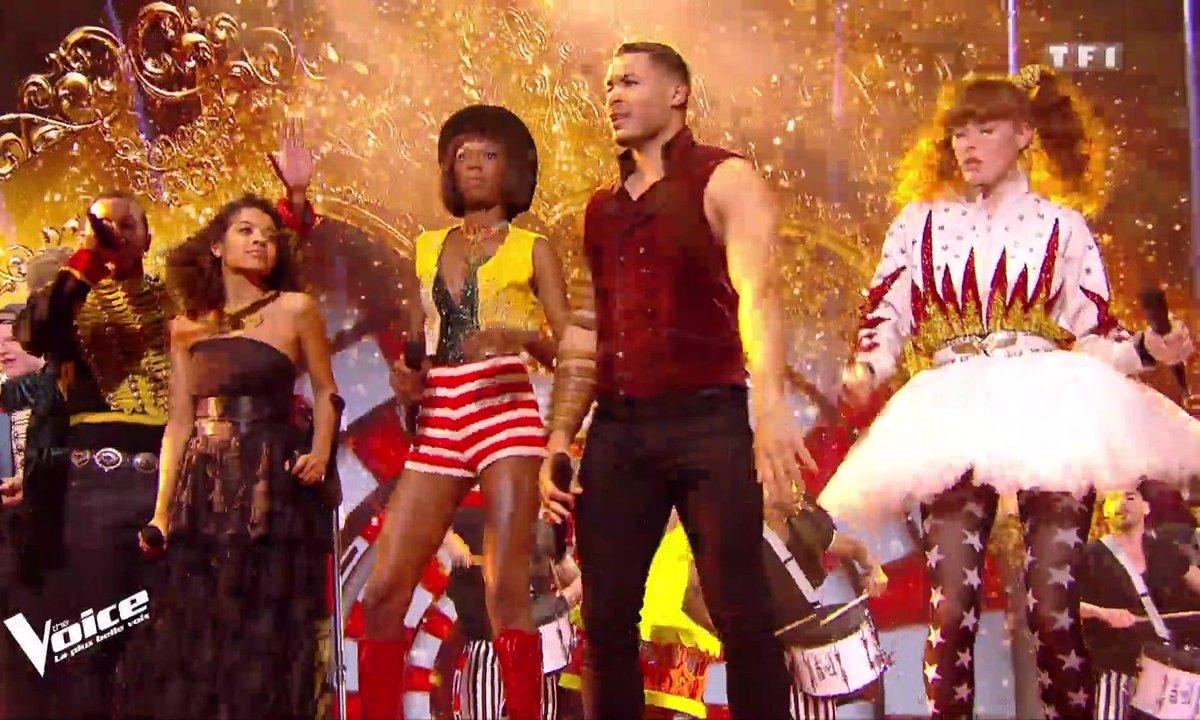 Direct - 16 Talents et Soprano, Julien Clerc, Jenifer et Mika « This Is Me » (The Greatest Showman)