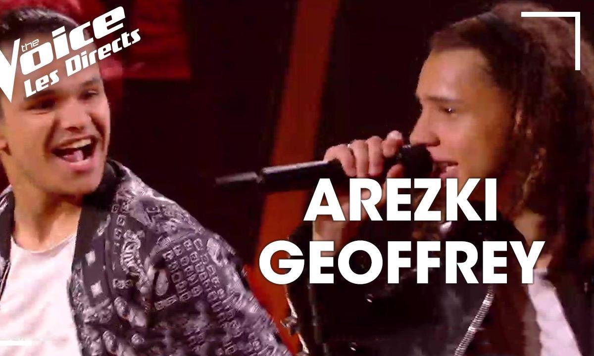 Direct [Jenifer] – Geoffrey / Arezki – « Uptown Funk » (Bruno Mars)